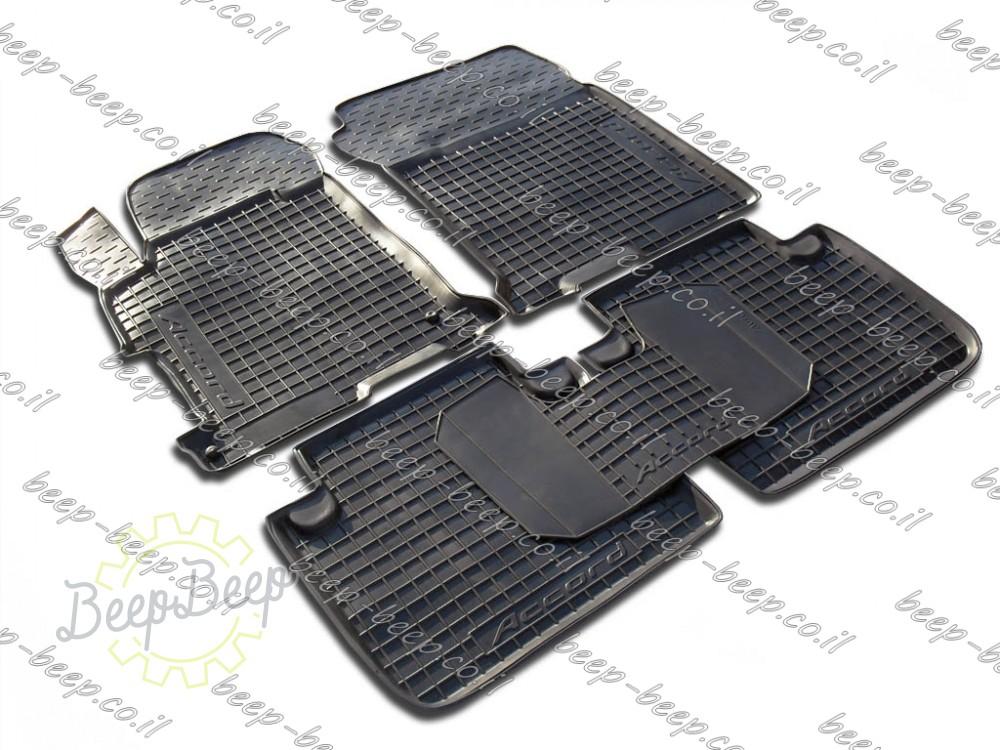 Set Of 5 Custom Fit Car Floor Mats For Honda Accord