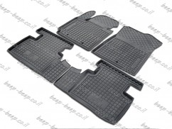Car Floor Mats for KIA SOUL II NOT EV VERSION 2014—2019 Custom Fit All Weather Liners