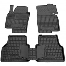 Car Floor Mats for VOLKSWAGEN TIGUAN I 2007—2015 Custom Fit All Weather Liners