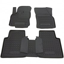 Car Floor Mats for VOLKSWAGEN TIGUAN II ALLSPACE 2016—2020 Custom Fit All Weather Liners