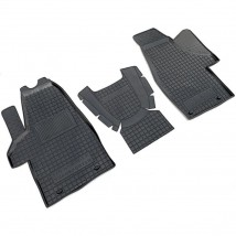 Car Floor Mats for VOLKSWAGEN T5 (MULTIVAN, 1+1) 2003—2015 Custom Fit All Weather Liners