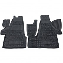 Car Floor Mats for VOLKSWAGEN T5 (TRANSPORTER, 1+2) 2003—2015 Custom Fit All Weather Liners
