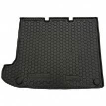 Cargo Trunk Mat for VOLKSWAGEN T5 (CARAVELLE, LONG, WITHOUT STOVE) 2003—2015 Custom Fit Tray Boot Liner