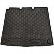 Cargo Trunk Mat for VOLKSWAGEN T5 (CARAVELLE, LONG, WITH STOVE) 2003—2015 Custom Fit Tray Boot Liner