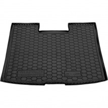 Cargo Trunk Mat for VOLKSWAGEN T5 (CARAVELLE, SHORT, WITH STOVE) 2003—2015 Custom Fit Tray Boot Liner