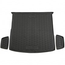 Cargo Trunk Mat for VOLKSWAGEN TIGUAN II ALLSPACE 2016—2020 Custom Fit Tray Boot Liner