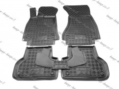 Car Floor Mats for AUDI A4 B9 2016—2021 Custom Fit All Weather Liners