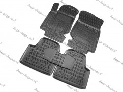 Car Floor Mats for OPEL CORSA F 2020—2021 Custom Fit All Weather Liners