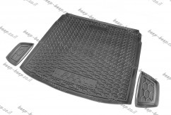 AV-G Cargo Trunk Mat for SEAT TARRACO 2019—2021 Custom Fit Tray Boot Liner