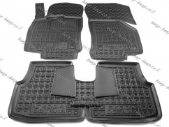 AV-G Car Floor Mats for SKODA OCTAVIA VI 2020—2021 Custom Fit All Weather Liners