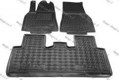 Car Floor Mats for TESLA MODEL Y 2020—2021 Custom Fit All Weather Liners