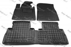 Car Floor Mats for HYUNDAI SANTA FE IV 2021—2022 Custom Fit All Weather Liners