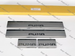 N.Niko Door sill lining for FORD PUMA I 2019—2022 Chrome Scuff Plate Cover
