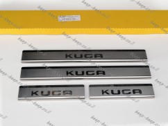 N.Niko Door sill lining for FORD KUGA III 2019—2022 Chrome Scuff Plate Cover