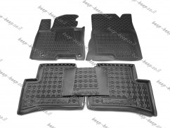 Car Floor Mats for HYUNDAI TUCSON 2020—2022 Custom Fit All Weather Liners