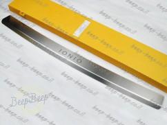 N.Niko Rear Bumper Lining for HYUNDAI IONIQ 2021—2022 Chrome Cover Protector