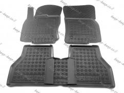 AV-G Car Floor Mats for VOLKSWAGEN CADDY IV 2020—2022 Custom Fit All Weather Liners