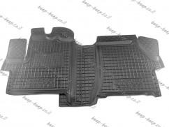 AV-G Car Floor Mats for PEUGEOT E-BOXER 2021—2022 Custom Fit All Weather Liners