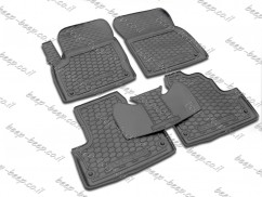 Fully Tailored Rubber / Set of 5 Car Floor Mats Carpet for LAND ROVER RANGE ROVER EVOQUE I 2010—2018