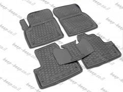 Fully Tailored Rubber / Set of 5 Car Floor Mats Carpet for LAND ROVER RANGE ROVER EVOQUE I 2010—2019