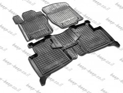 Car Floor Mats for MERCEDES ML-CLASS W164 2006—2011 Custom Fit All Weather Liners