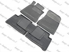 Fully Tailored Rubber / Set of 5 Car Floor Mats Carpet for MERCEDES E-CLASS W211 2003—2009
