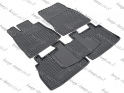 Fully Tailored Rubber / Set of 5 Car Floor Mats Carpet for MERCEDES S-CLASS W220 (NOT LONG) 1998—2005