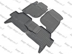 Fully Tailored Rubber / Set of 5 Car Floor Mats Carpet for MITSUBISHI PAJERO SPORT II 2009—2015