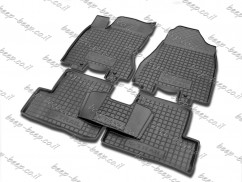 Fully Tailored Rubber / Set of 5 Car Floor Mats Carpet for NISSAN X-TRAIL T31 2007—2013