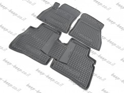Fully Tailored Rubber / Set of 5 Car Floor Mats Carpet for NISSAN SENTRA B17 2013—2018