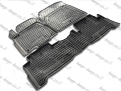 Fully Tailored Rubber / Set Car Floor Mats Carpet for ACURA MDX (YD2) 2006—2013