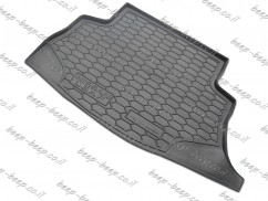 Cargo Trunk Mat for NISSAN LEAF I 2011—2017 Custom Fit Tray Boot Liner