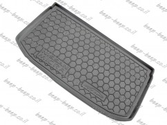 Cargo Trunk Mat for NISSAN MICRA IV 2011—2016 Custom Fit Tray Boot Liner