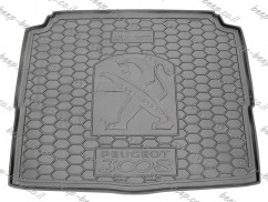 Cargo Trunk Mat for PEUGEOT 3008 II 2017—2020 Custom Fit Tray Boot Liner