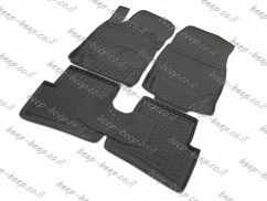 Fully Tailored Rubber / Set of 5 Car Floor Mats Carpet for RENAULT CAPTUR I 2013—2018