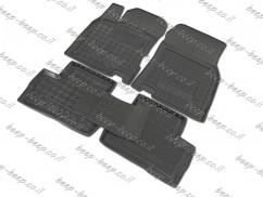 Fully Tailored Rubber / Set of 5 Car Floor Mats Carpet for RENAULT KADJAR I 2015—2020