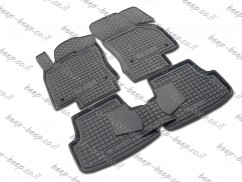 Fully Tailored Rubber / Set of 5 Car Floor Mats Carpet for SEAT LEON III 2012—2019