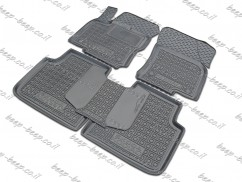 Car Floor Mats for SKODA KODIAQ I (5 SEATS) 2016—2020 Custom Fit All Weather Liners