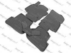 Fully Tailored Rubber / Set of 5 Car Floor Mats Carpet for SKODA OCTAVIA II 2005—2012