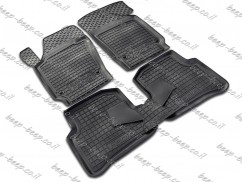 Fully Tailored Rubber / Set of 5 Car Floor Mats Carpet for SKODA FABIA III 2015—2020