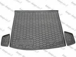 Fully Tailored Rubber / Cargo Mat Tray Trunk Boot Liner for SKODA KODIAQ I 2016—2019