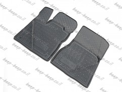 Fully Tailored Rubber / Set Car Floor Mats Carpet for SMART FORTWO W453 2015—2019