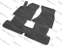 Fully Tailored Rubber / Set of 5 Car Floor Mats Carpet for AUDI Q5 I 2008—2016