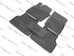 Fully Tailored Rubber / Set of 5 Car Floor Mats Carpet for AUDI Q3 I 2011—2017