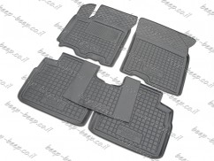 Fully Tailored Rubber / Set of 5 Car Floor Mats Carpet for SUZUKI SX4 S-CROSS 2014—2019