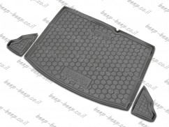Fully Tailored Rubber / Cargo Mat Tray Trunk Boot Liner for SUZUKI VITARA IV 2016—2020