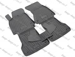 Fully Tailored Rubber / Set of 5 Car Floor Mats Carpet for AUDI A6 C7 2012—2018