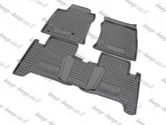 Fully Tailored Rubber / Set of 5 Car Floor Mats Carpet for TOYOTA LAND CRUISER PRADO 120 2002—2009