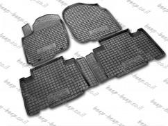 Fully Tailored Rubber / Set Car Floor Mats Carpet for TOYOTA RAV4 IV 2013—2017