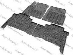 Fully Tailored Rubber / Set Car Floor Mats Carpet for TOYOTA LAND CRUISER 200 2013—2019